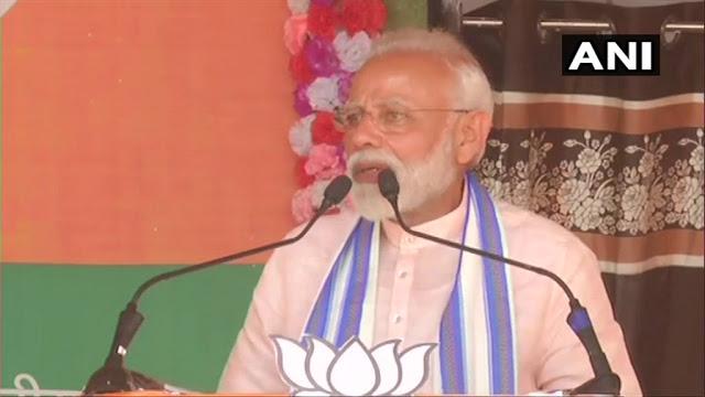 कांग्रेसी वादे से बढ़ा नक्सलियों का मनोबल: PM मोदी