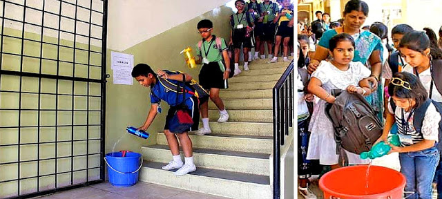 बच्चों ने पानी को बचाने के लिए बनाया ऐसा कमाल का 'प्लान'