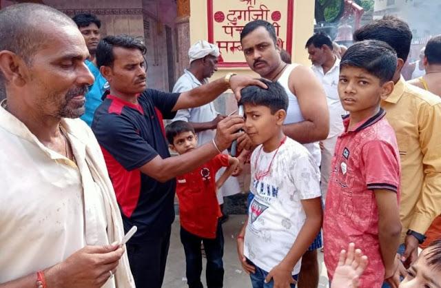 यहां नवजात भी अपने खून से करते हैं 'मां दुर्गा' का अभिषेक
