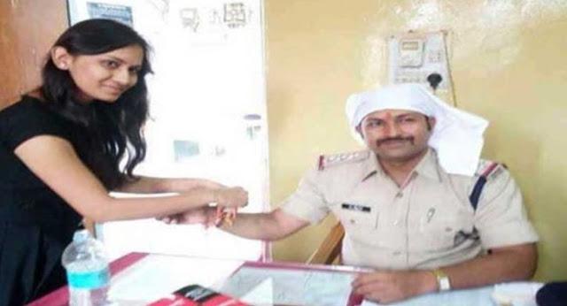 ये पुलिस अधिकारी है 3 हजार बहनों का भाई