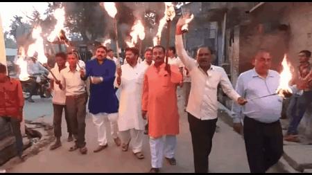 बिजली विभाग के खिलाफ व्यापारियो के आंदोलन का 10वाँ दिन, 4 दिन से चल रहा है आमरण अनशन