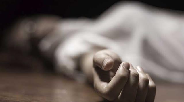 फावड़ा से गला काटकर पत्नी की नृशंस हत्या