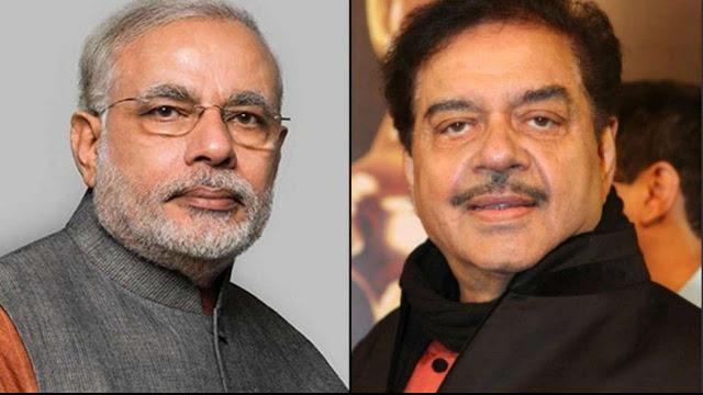 मोदी पर बरसे BJP सांसद शत्रुघ्न सिन्हा, हताश 'मदारी' से कर डाली तुलना