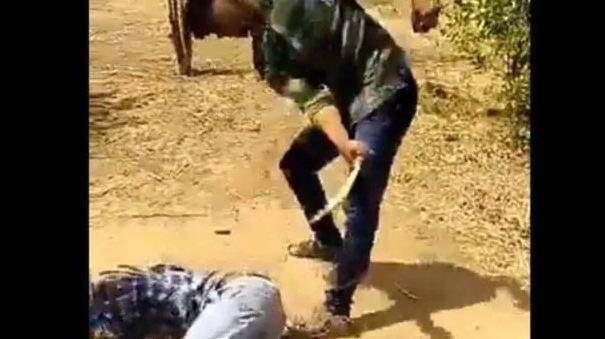 दलित युवक की बेरहमी से की पिटाई