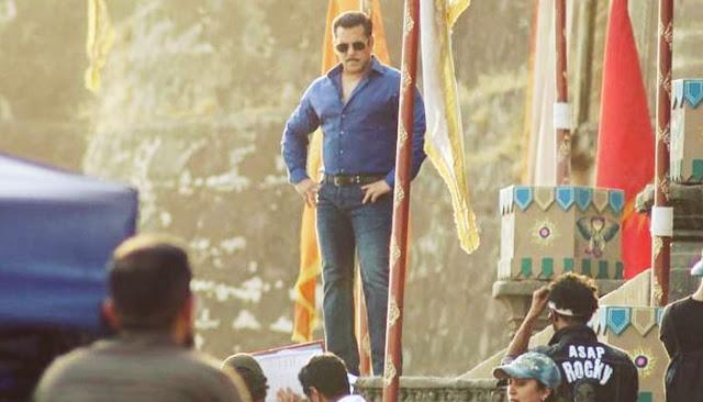 सलमान खान की फिल्म Dabangg 3 की शूटिंग के दौरान शिवलिंग के अनादर का आरोप