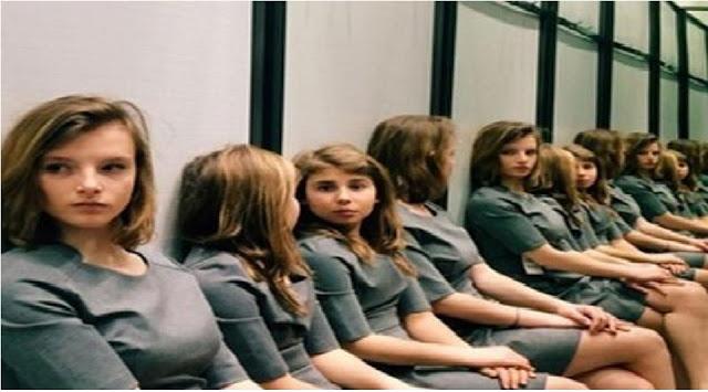 दिमाग पर जोर डालकर बताइये इस फोटो में बैठी हैं कितनी लड़कियां?