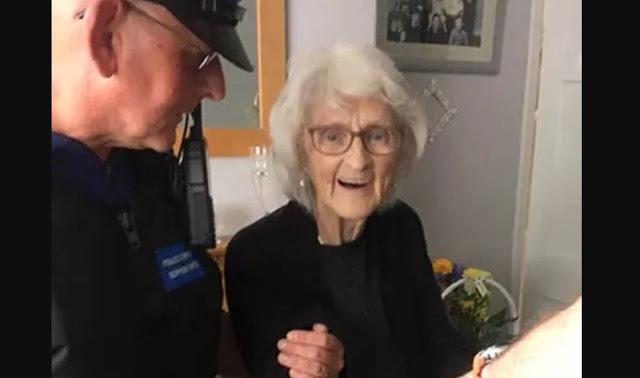 93 साल की वृद्धा मरने से पहले जाना चाहती थी जेल, ब्रिटिश पुलिस ने पूरी की आखिरी इच्छा
