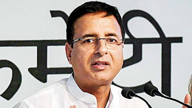 BJP का न्यू इंडिया- क़र्ज़ लो, ऐश करो: सुरजेवाला