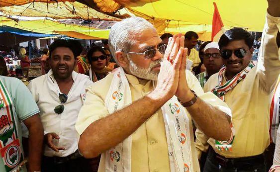 राजनाथ के खिलाफ चुनाव लड़ेंगे PM मोदी के हमशक्ल अभिनंदन पाठक