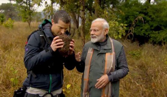 मैन वर्सेज वाइल्ड में किरदार निभा कर मैं भारत ही नहीं, दुनिया भर के युवाओं के साथ जुड़ा: मोदी