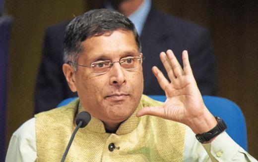अरविंद अब भी अड़े हैं कि जीडीपी 2.5 प्रतिशत अधिक बताई जा रही है...