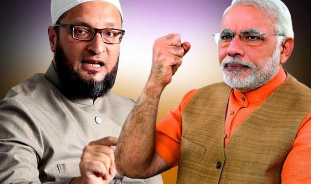 मोदी कितनी भी कोशिश कर लें KCR के रहते BJP नहीं बन पाएगी शक्तिशाली: ओवैसी
