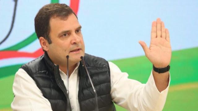 राहुल गांधी ने CM योगी पर साधा निशाना