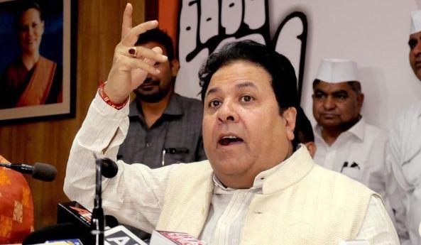 कांग्रेस के घोषणा पत्र से घबरा गए भाजपा के लोग, कर रहे प्रचार : राजीव शुक्ला