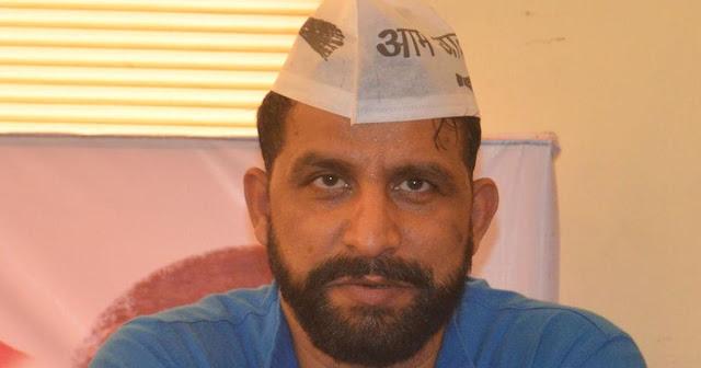 AAP नेता के विवादित बोल, कहा- CM खट्टर ब्राह्मणों से मांगें माफी नहीं तो कटेंगे हाथ