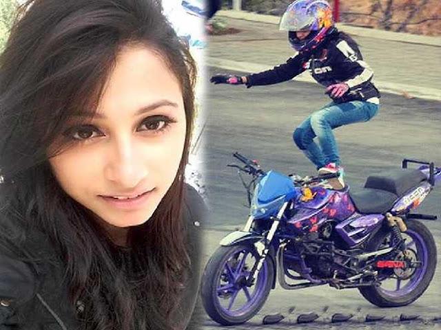 अनम हाशिम ने बाइक स्टंट से बनाई अपनी पहचान!