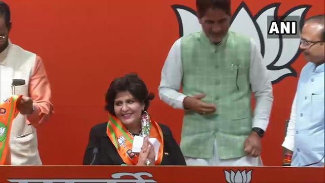 पैरालंपियन दीपा मलिक ने थामा BJP का दामन
