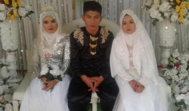 दो लड़कियों से हुआ युवक हो प्यार, एक ही मंडप में दोनों से कर ली शादी