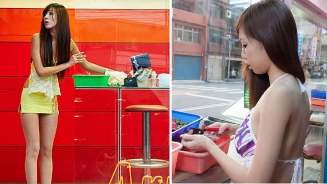 छोटे कपड़ों में सड़कों पर ऐसा काम करती है ये लड़की!