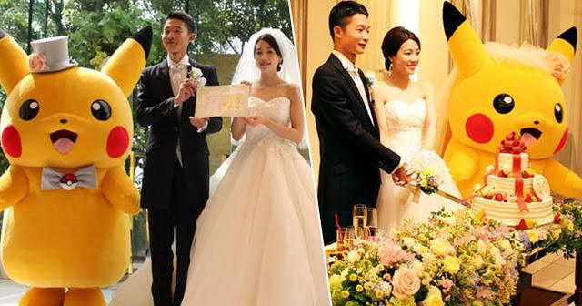जापान में ट्रेंड बनता जा रहा Pokemon Wedding