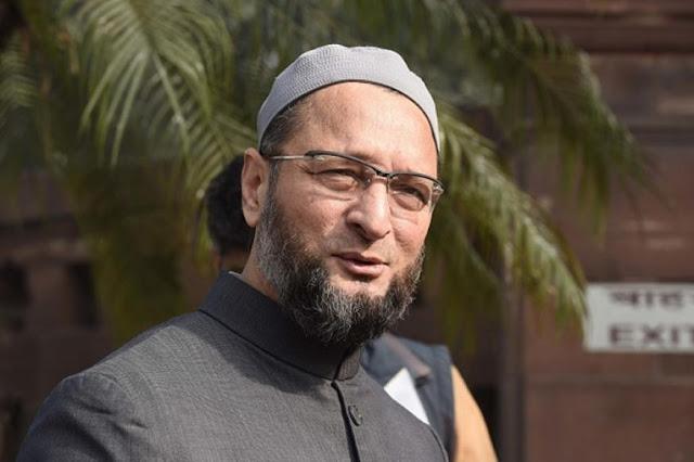 असदुद्दीन ओवैसी ने विपक्ष के दर्जे का किया दावा