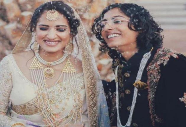 भारत-पाक की लड़कियों ने अमेरिका में एक-दूजे से की शादी