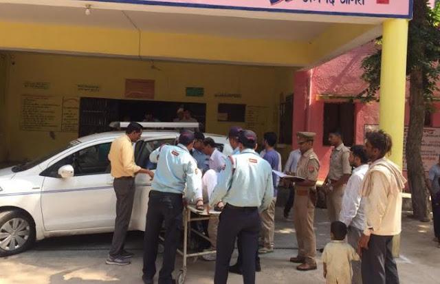 फतेहपुर सीकरी में विदेशी महिला चोटिल