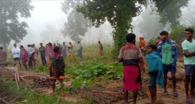 गजराज के तांडव से कई गांवो मे हाहाकार, मुशीं की कुचलकर मौत