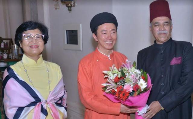 निज़ाम हैदराबाद के परपोते नवाब नजफ़ अली खान 74वें  वेतनाम स्थापना दिवस में शामिल